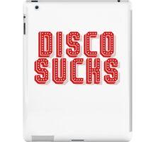 Disco Sucks iPad Case/Skin
