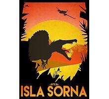 Isla Sorna - Site B - Spinosaurus Rex  Photographic Print