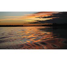 Amazonian sunset Photographic Print