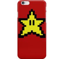 8 bit- Gamer STAR iPhone Case/Skin