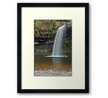 Sgwd Gwladys Waterfall River Pyrddin Framed Print