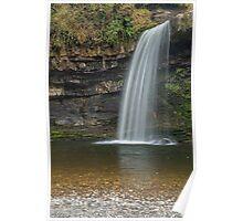 Sgwd Gwladys Waterfall River Pyrddin Poster