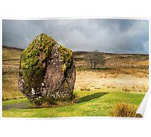 Maen Llia Standing Stone Brecon Beacons Poster