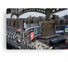 New Stadium, Old Bronx Canvas Print