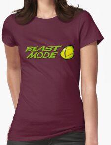 Beast Mode Womens Fitted T-Shirt