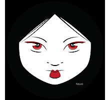 Geisha Girl Chic Photographic Print