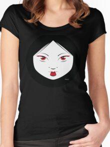 Geisha Girl Chic Women's Fitted Scoop T-Shirt