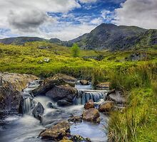 Mountain Breeze by Ian Mitchell