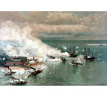 Battle Of Mobile Bay -- Civil War Photographic Print