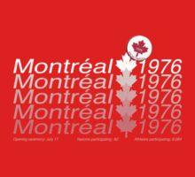 montreal 1976 Kids Tee