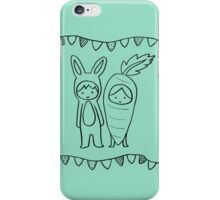 A Matching Pair - Mint iPhone Case/Skin