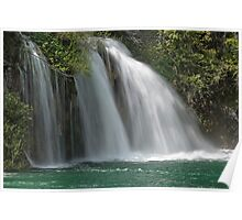 Waterfall Plitvice Poster