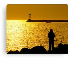 A Time To Fish Canvas Print