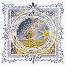 Celestial Heavens Sun & Stars by Zehda