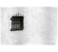 """""""Nor iron bars a cage"""" Poster"""