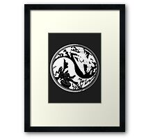 Pokemon Taoism edition Framed Print