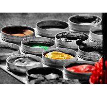 On The Darkside Of Colors Photographic Print