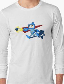 The Blue Bomber (man) Long Sleeve T-Shirt