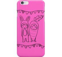 A Matching Pair - Pink iPhone Case/Skin