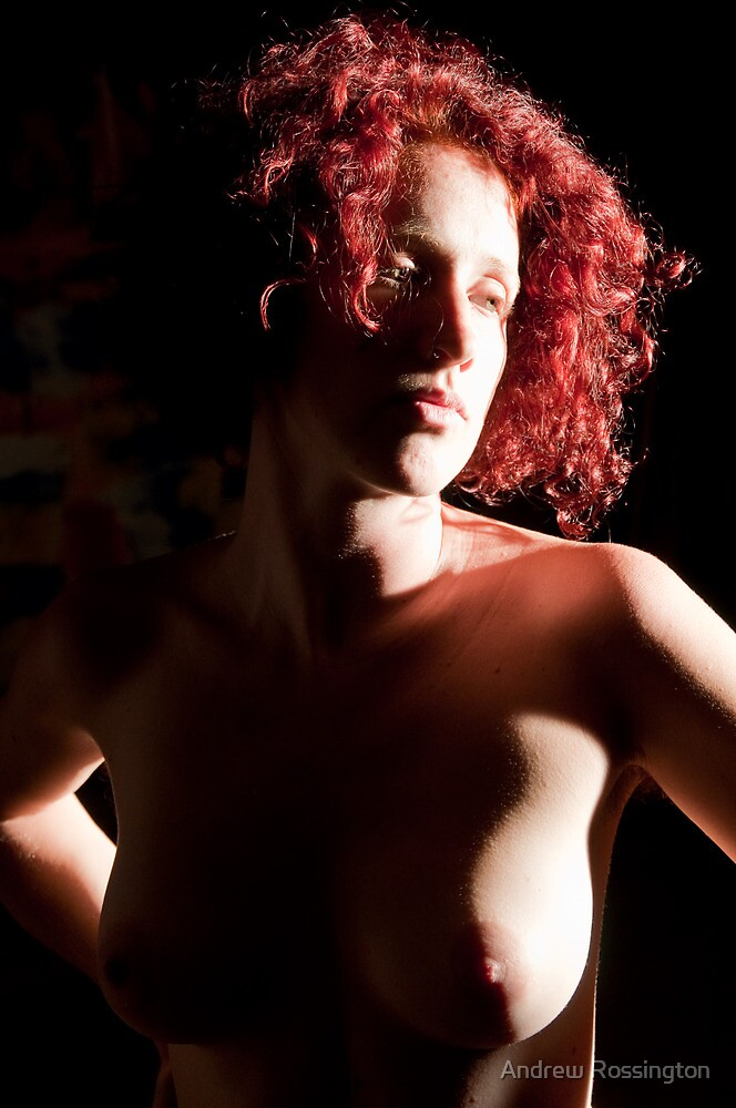 Crystal - In Red II by Andrew Rossington