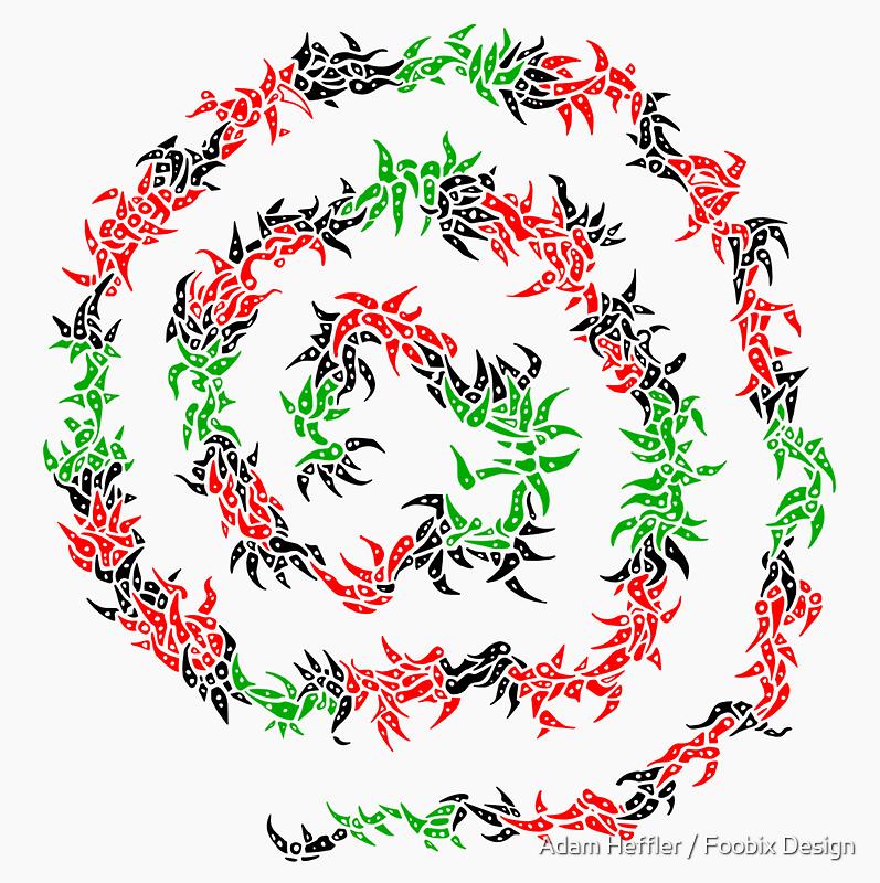 Spiral by Adam Heffler / Foobix Design
