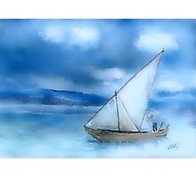 Dhow Fishing Vessel Photographic Print
