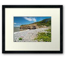 Tresilian Bay Framed Print
