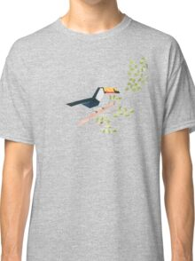 Low poly watercolor - Toucan Classic T-Shirt