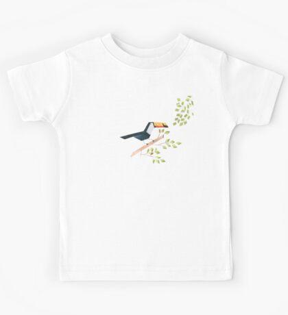 Low poly watercolor - Toucan Kids Tee