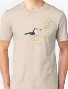 Low poly watercolor - Toucan Unisex T-Shirt