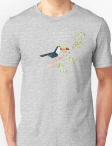 Low poly watercolor - Toucan Unisex T-Shirt