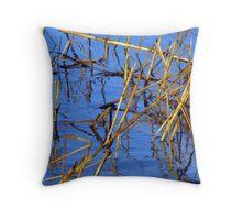 Water Grass Designs Throw Pillow