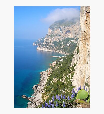 Coastline of Southern Italy Photographic Print