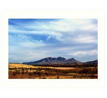 Mt Sonder, West MacDonnell Ranges Art Print