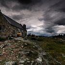 Cloudy Morning, Shepherds Warning by Robert Mullner
