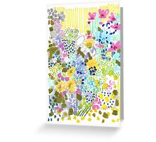 Floral Garden 2 Greeting Card