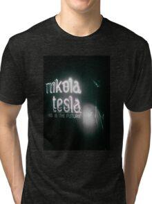 Nikola Tesla Tri-blend T-Shirt