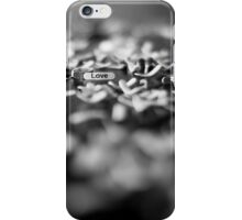 Through it all, love comes shining through... iPhone Case/Skin