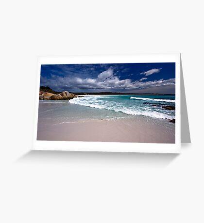 Bay of Fires - Tasmania Greeting Card