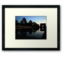 Oklahoma City National Memorial Framed Print