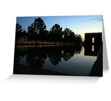 Oklahoma City National Memorial Greeting Card