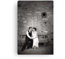 Happy forever Canvas Print