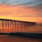 Sunrise at Carolina Beach by Forrest L Smith