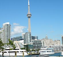 The CN Tower by bluekrypton