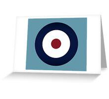 RAF Design Greeting Card