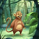 """Mogie"" The Monkey by Tom Bradnam"