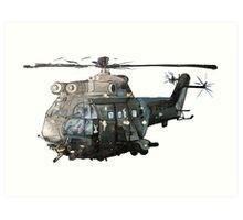 Gunship Indian Air Force Art Print