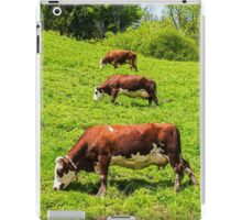 Three Cows in a row iPad Case/Skin