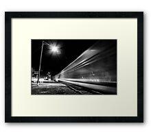 The Departure Framed Print