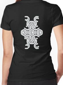 Colossus Weak Spot - Shadow of the Colossus Women's Fitted V-Neck T-Shirt